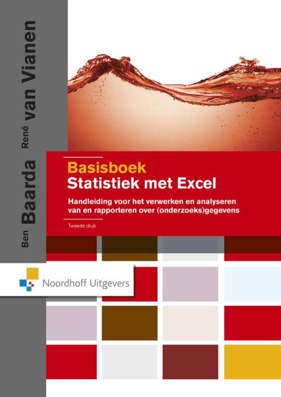 Cover Basisboek statistiek met Excel