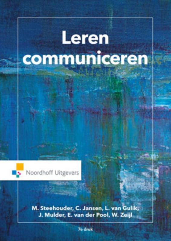 Cover Leren communiceren