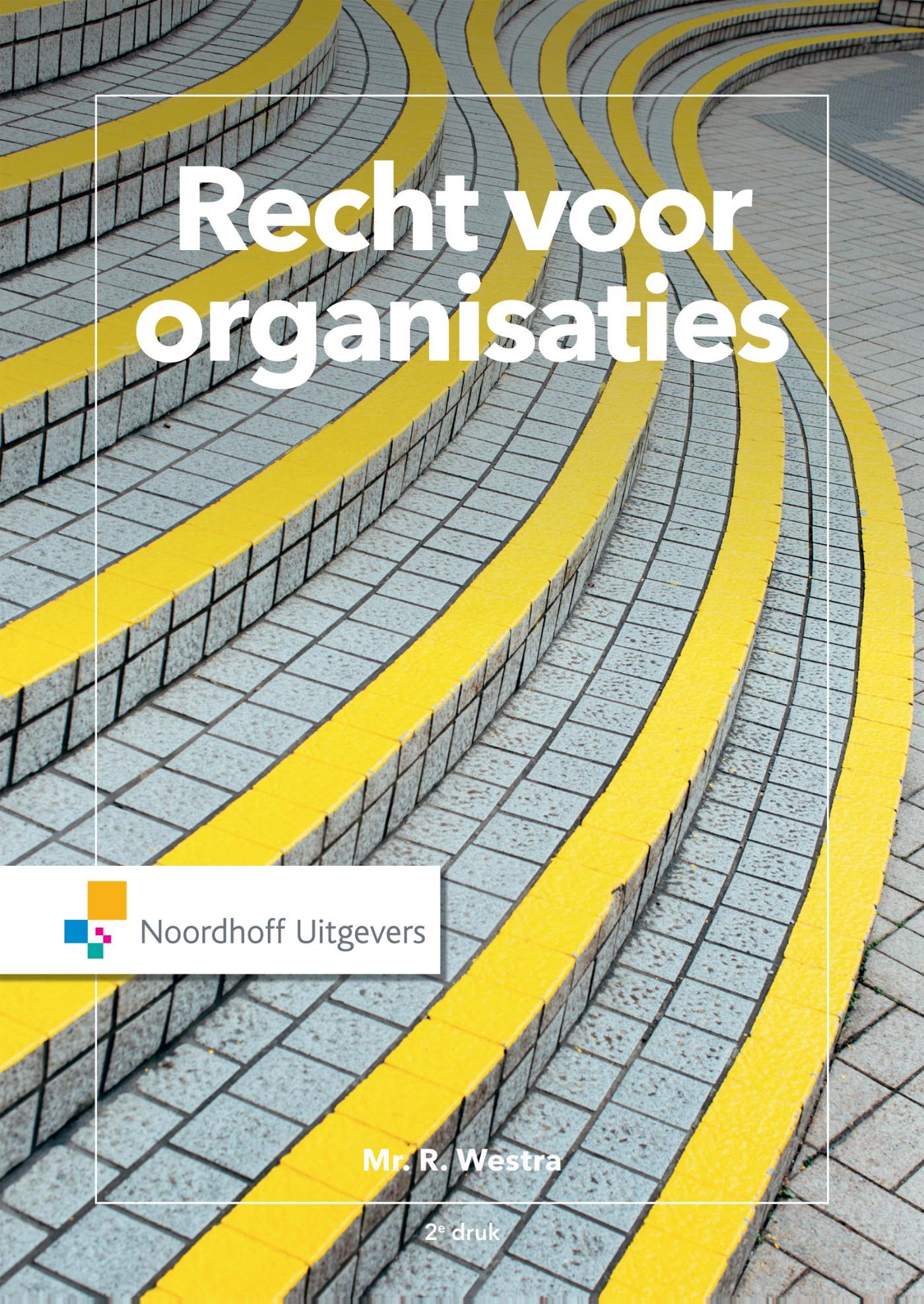 Cover Recht voor organisaties