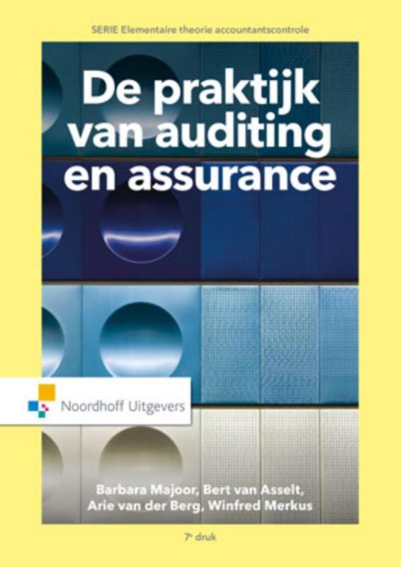 Cover De praktijk van auditing en assurance