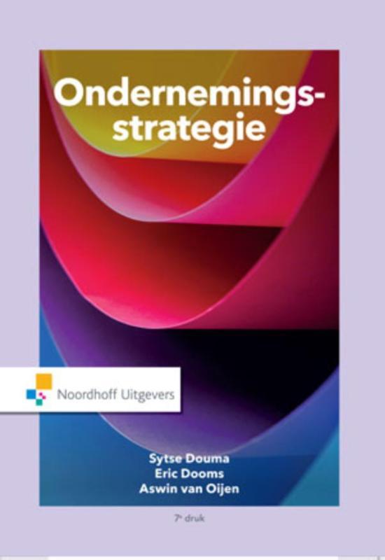 Cover Ondernemingsstrategie