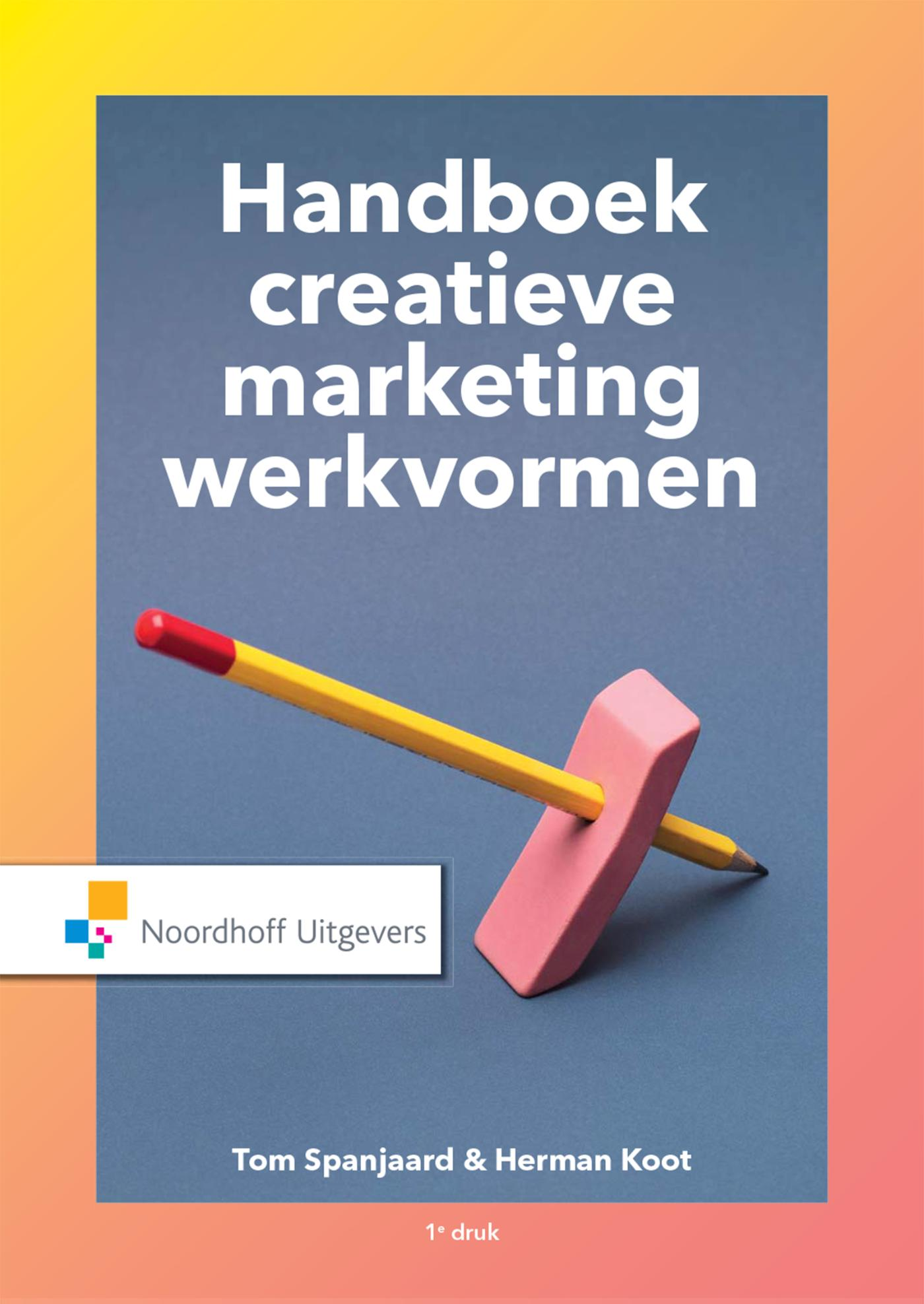 Cover Handboek creatieve marketingwerkvormen
