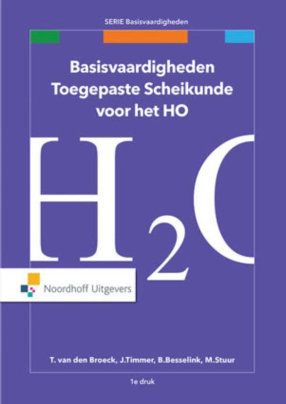 Cover Basisvaardigheden toegepaste scheikunde voor het HO