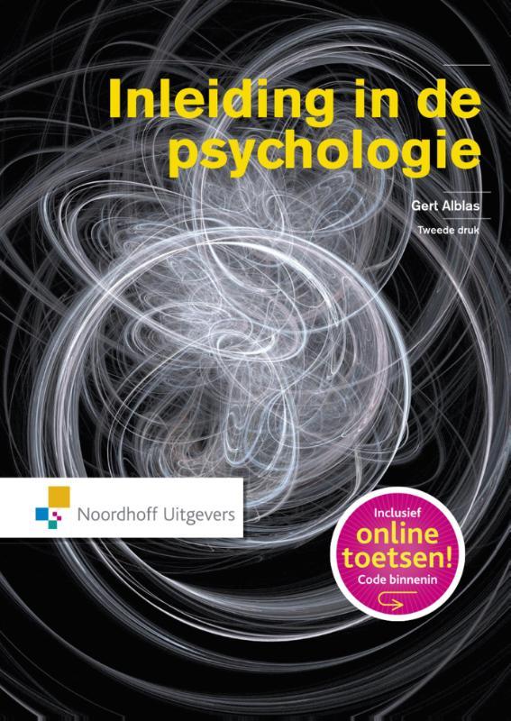Cover Inleiding in de psychologie