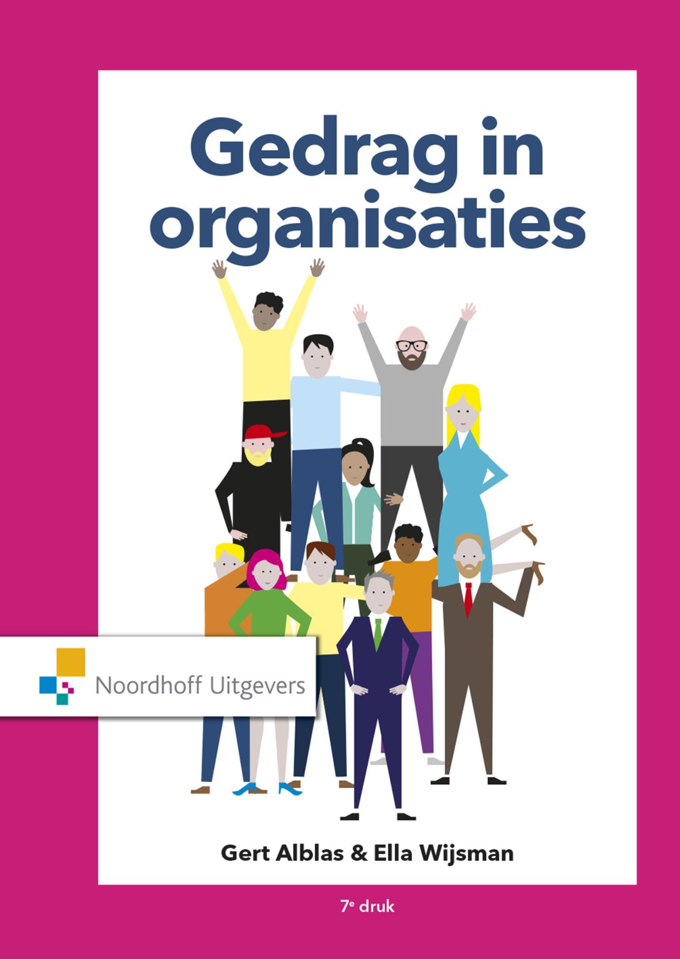 Cover Gedrag in organisaties