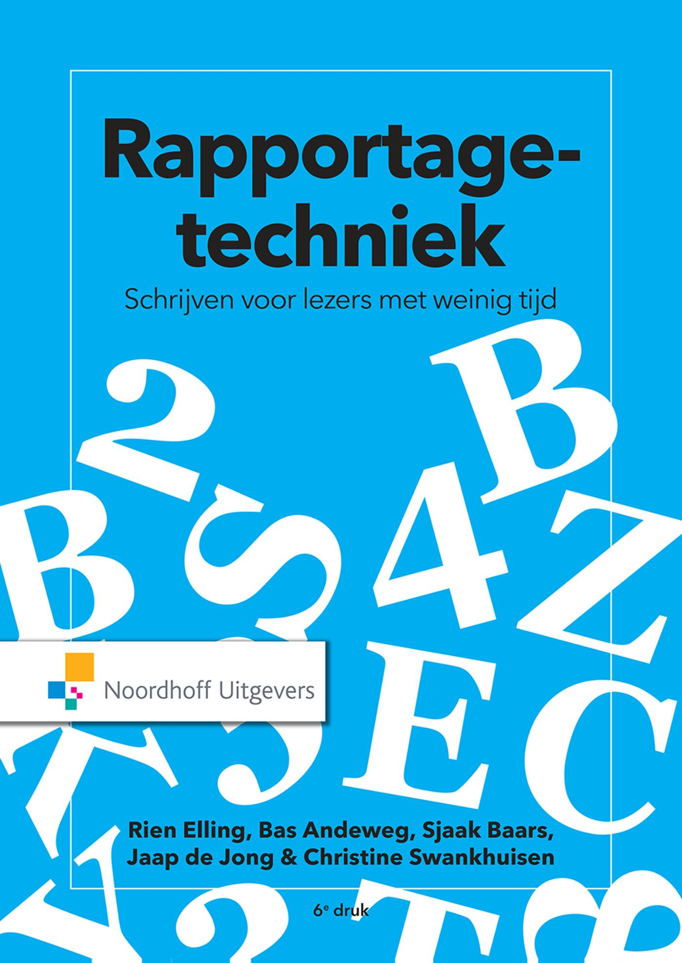 Cover Rapportagetechniek(e-book)