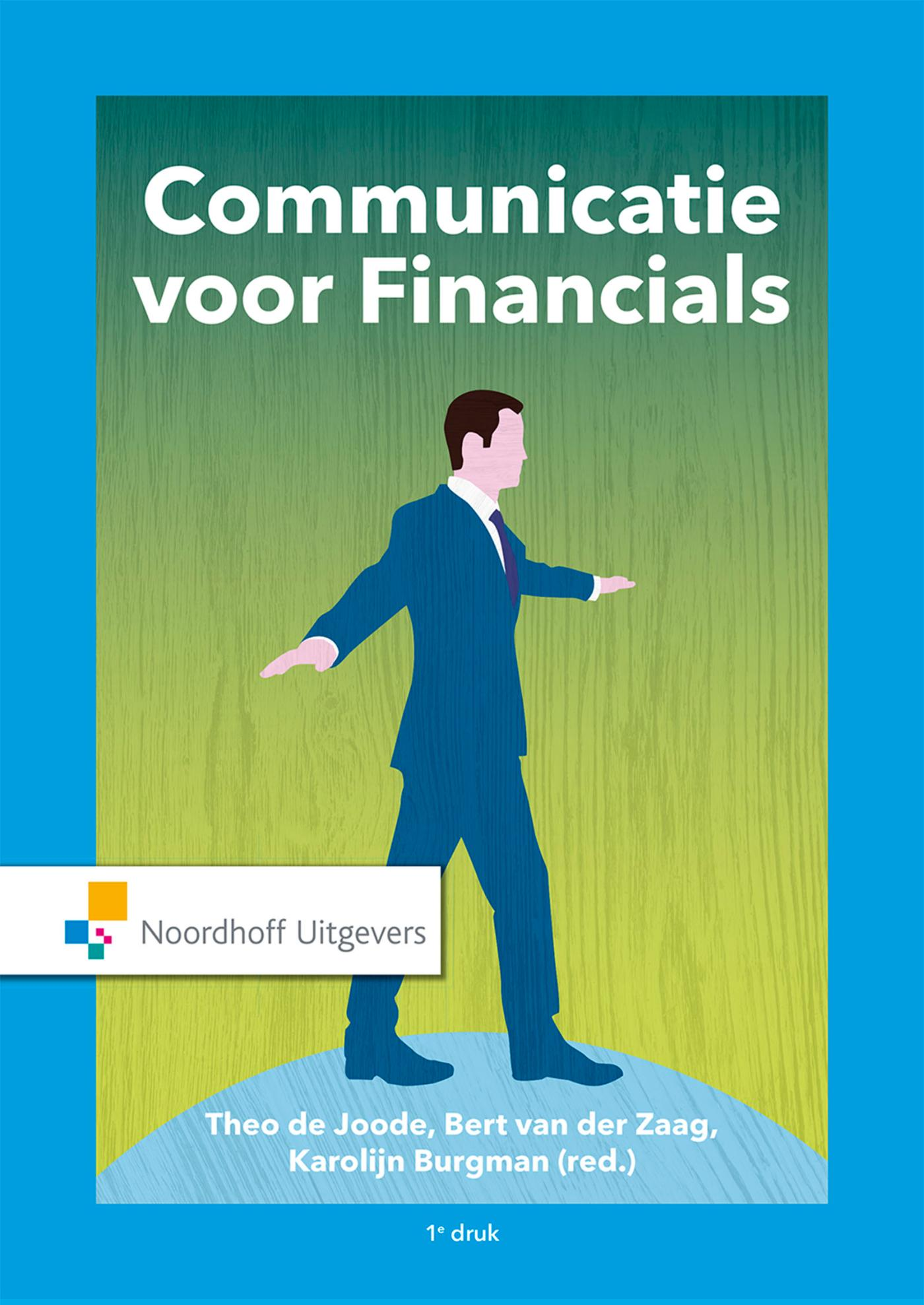 Cover Communicatie voor Financials
