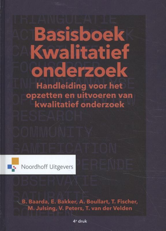 Cover Basisboek Kwalitatief Onderzoek
