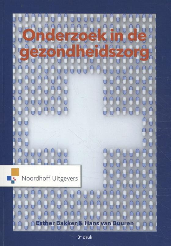 Cover Onderzoek in de gezondheidszorg