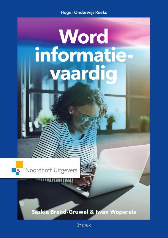 Cover Word informatie-vaardig