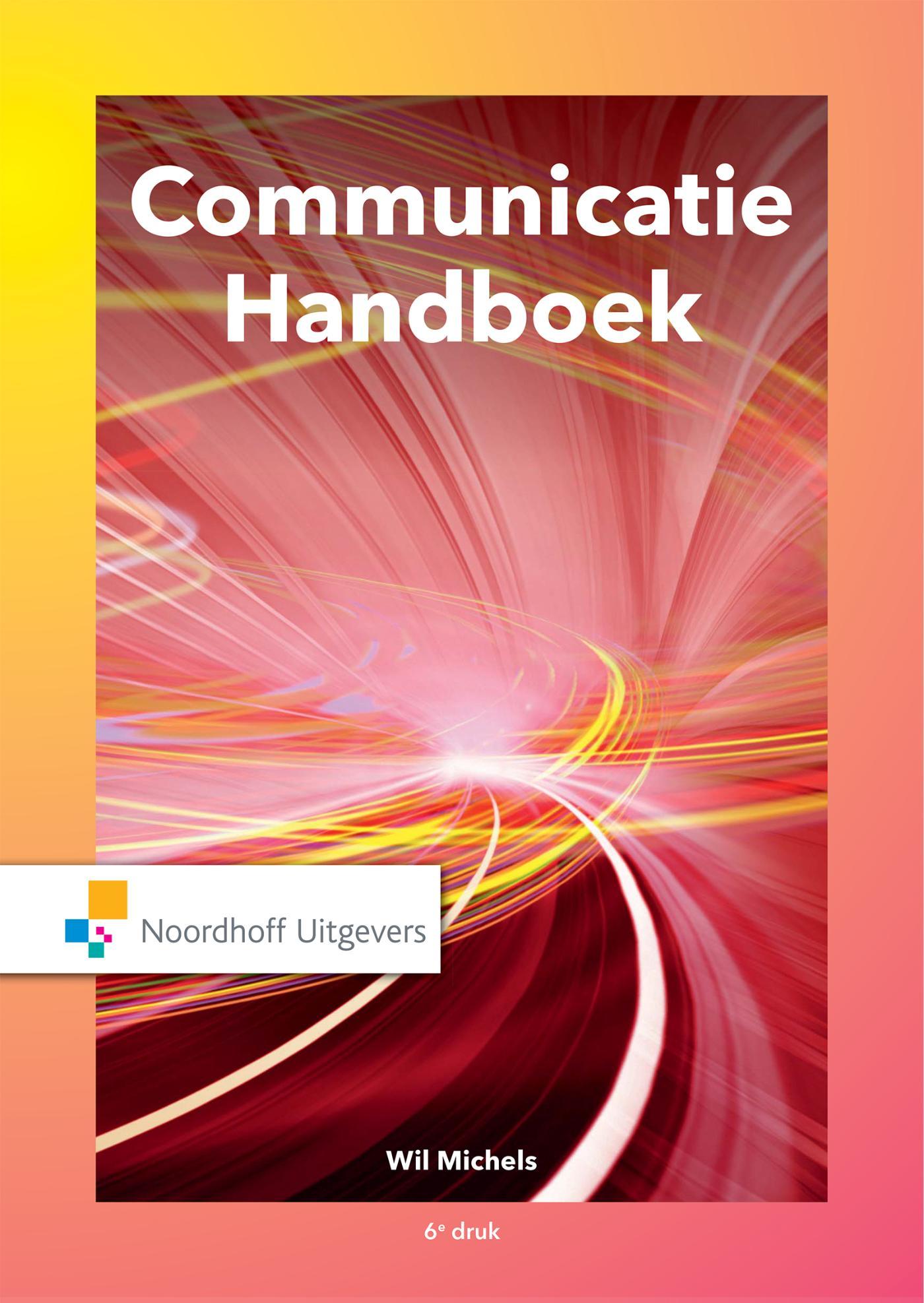 Cover Communicatie handboek