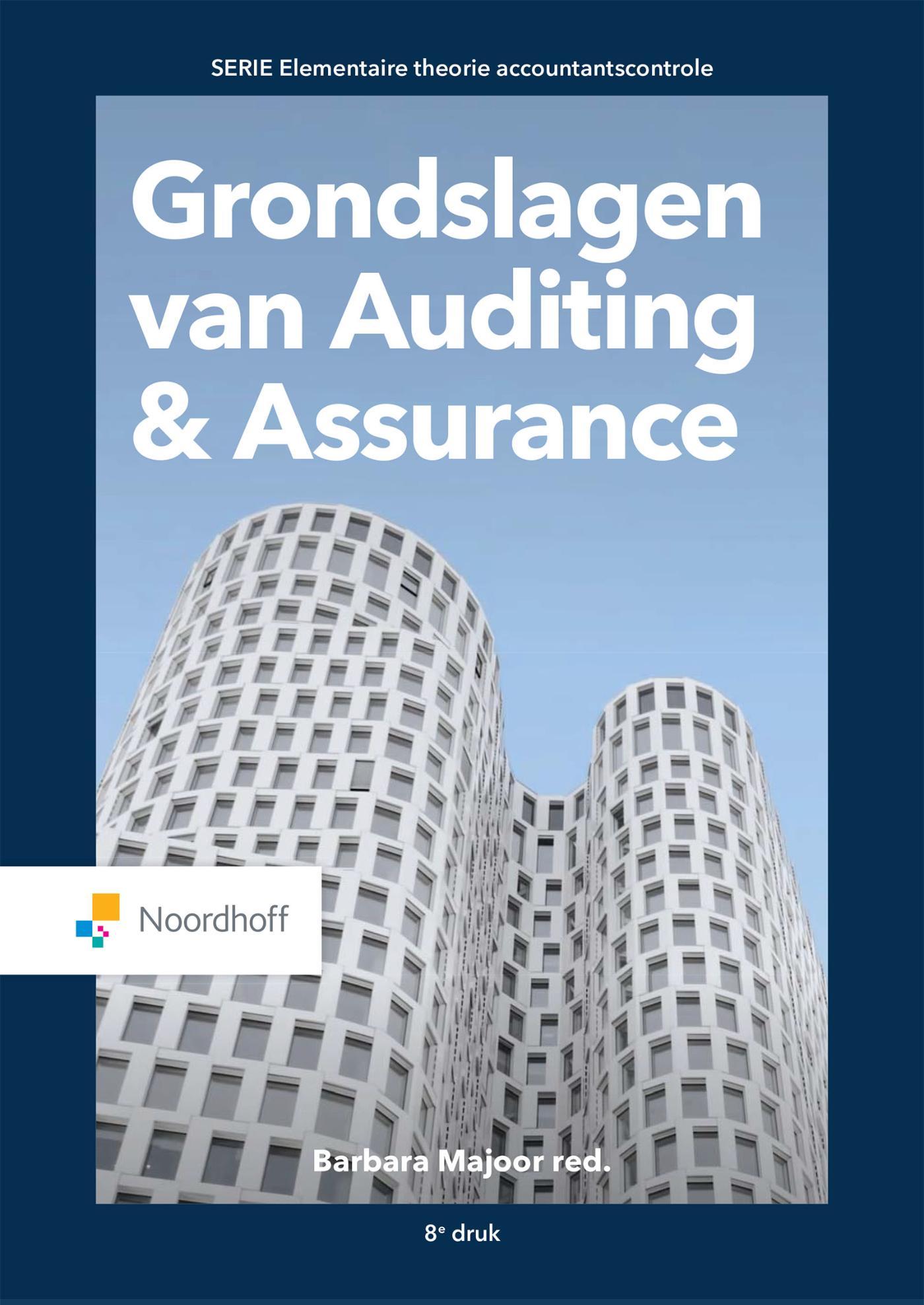 Cover Grondslagen van Auditing en Assurance