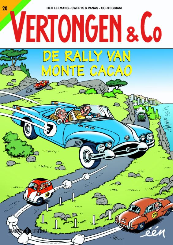 Cover De rally van Monte-Cacao