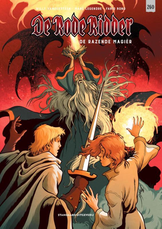 Cover De razende magiër