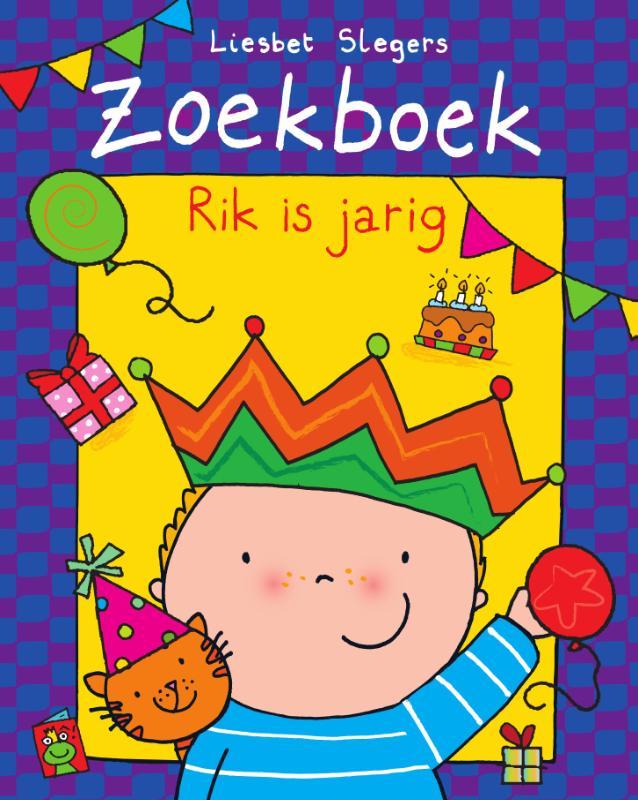 Cover Zoekboek Rik is jarig
