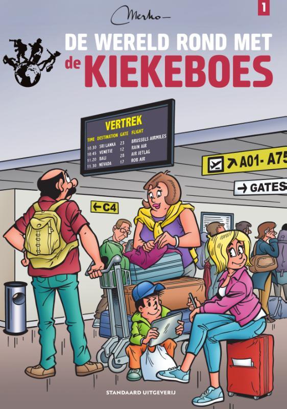 Cover De wereld rond met de Kiekeboes
