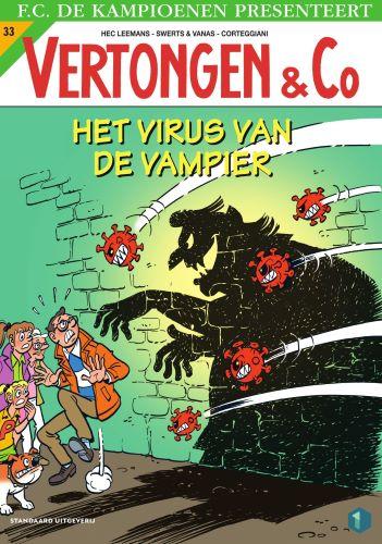 Cover Het virus van de vampier
