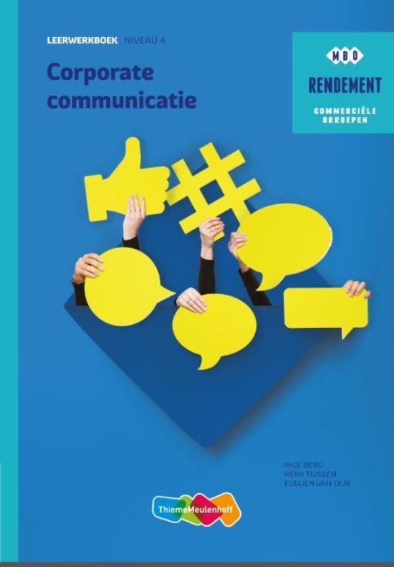 Cover Corporate communicatie