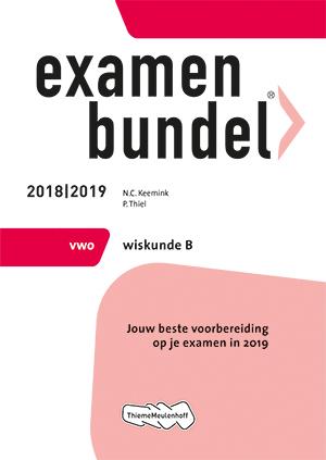 Cover vwo Wiskunde B 2018/2019