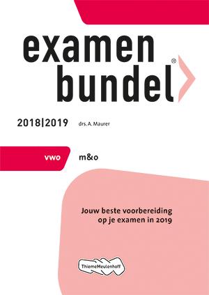 Cover vwo Management & Organisatie 2018/2019