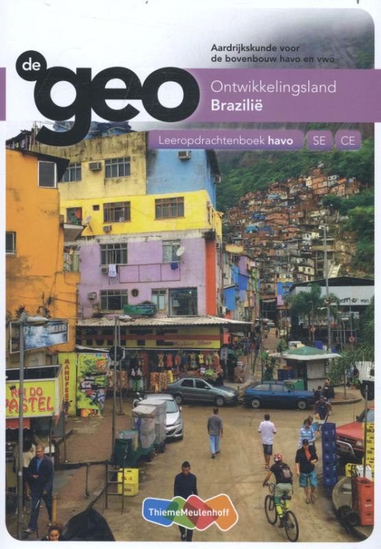 Cover De Geo bovenbouw havo 5e editie leeropdrachtenboek Brazilië