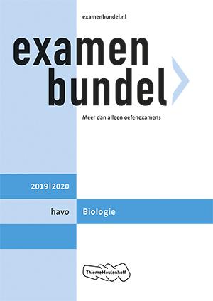 Cover Havo Biologie 2019/2020