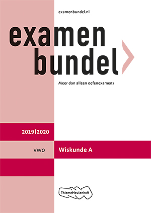 Cover vwo Wiskunde A 2019/2020