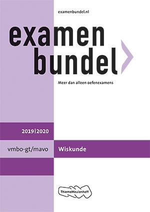 Cover vmbo-gt/mavo Wiskunde 2019/2020