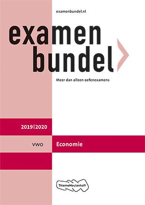 Cover vwo Economie 2019/2020
