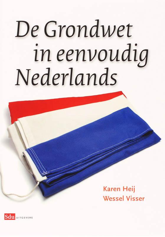 Cover De Grondwet in eenvoudig Nederlands