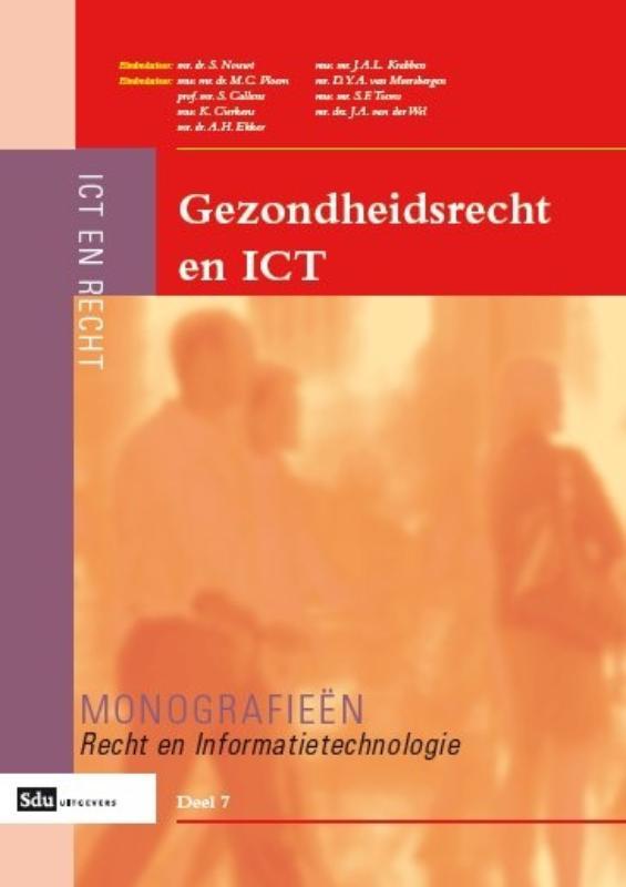Cover Gezondheidsrecht en ICT
