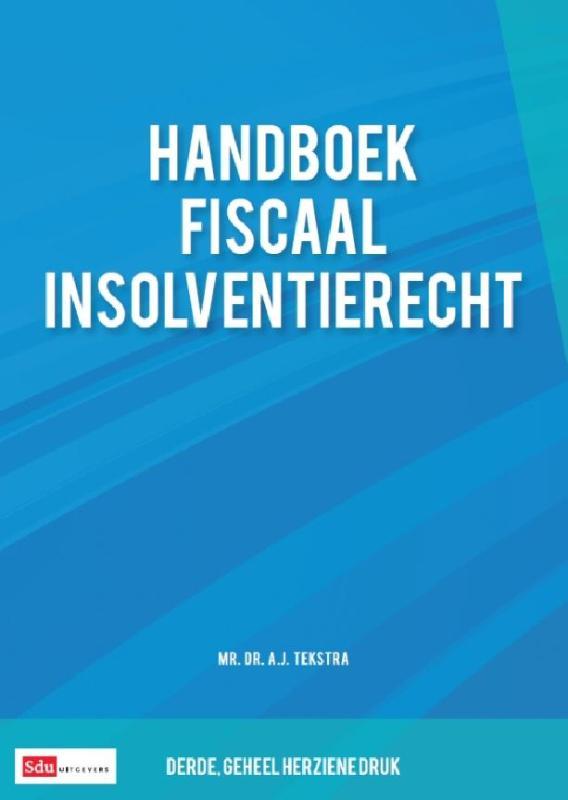 Cover Handboek fiscaal insolventierecht