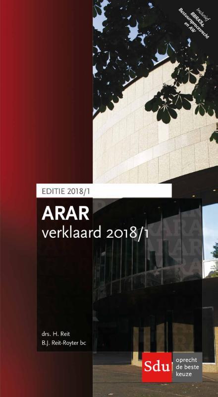 Cover ARAR Verklaard 2018/1