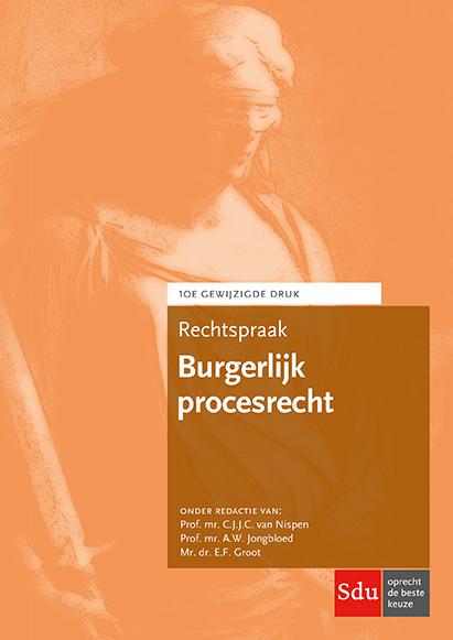 Cover Rechtspraak Burgerlijk procesrecht