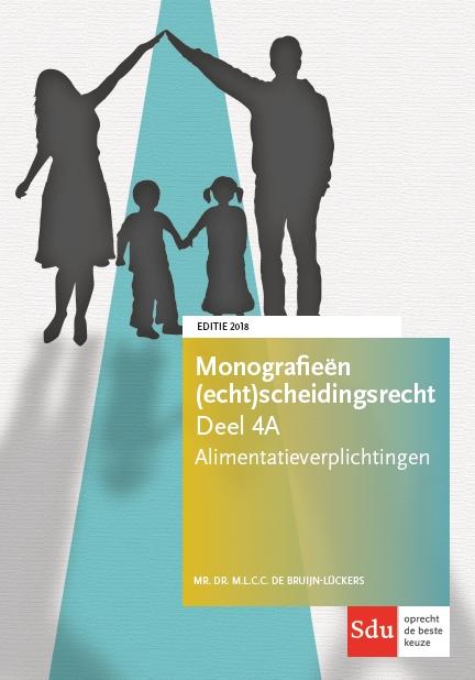 Cover Alimentatieverplichtingen. Editie 2018