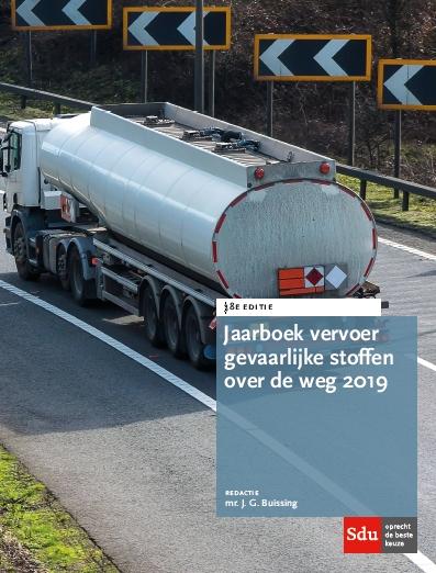 Cover Jaarboek Vervoer Gevaarlijke stoffen over de weg 2019