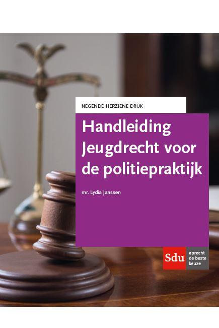 Cover Handleiding Jeugdrecht voor de politiepraktijk.