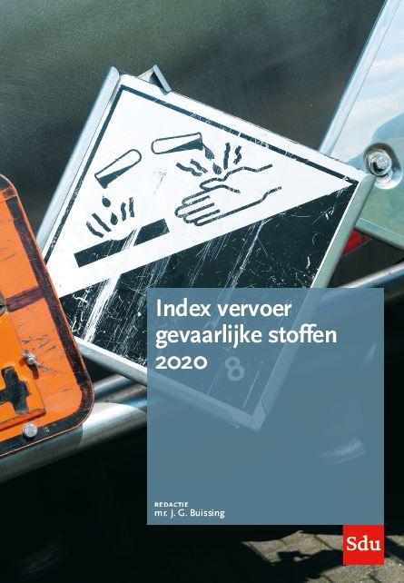 Cover Index Vervoer Gevaarlijke Stoffen. Editie 2020