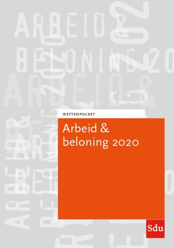 Cover Wettenpocket Arbeid & Beloning 2020