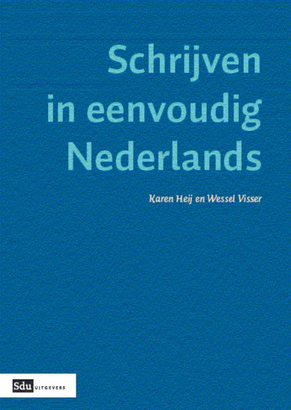 Cover Schrijven in eenvoudig Nederlands