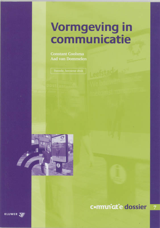 Cover Vormgeving in communicatie
