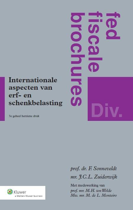 Cover Internationale aspecten van erf- en schenkbelasting