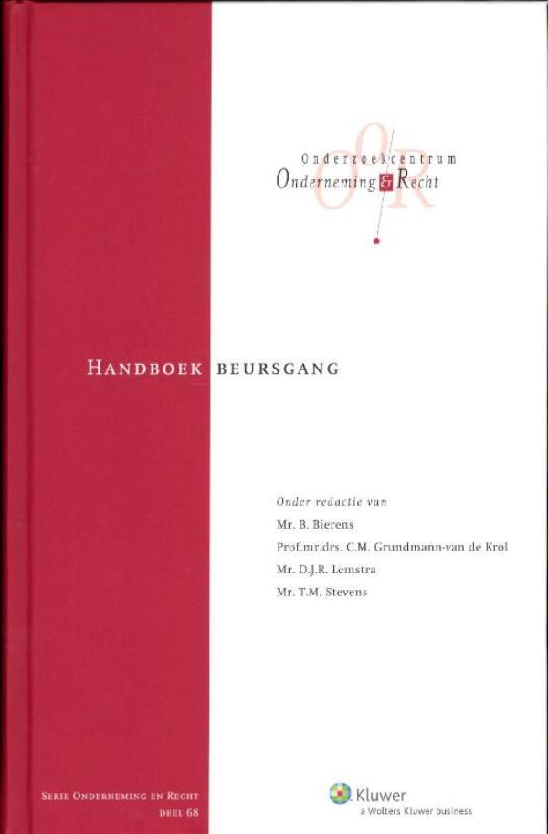 Cover Handboek beursgang