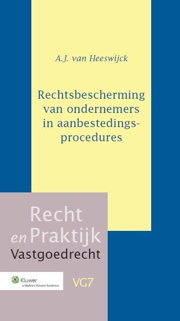 Cover Rechtsbescherming van ondernemers in aanbestedingsprocedures