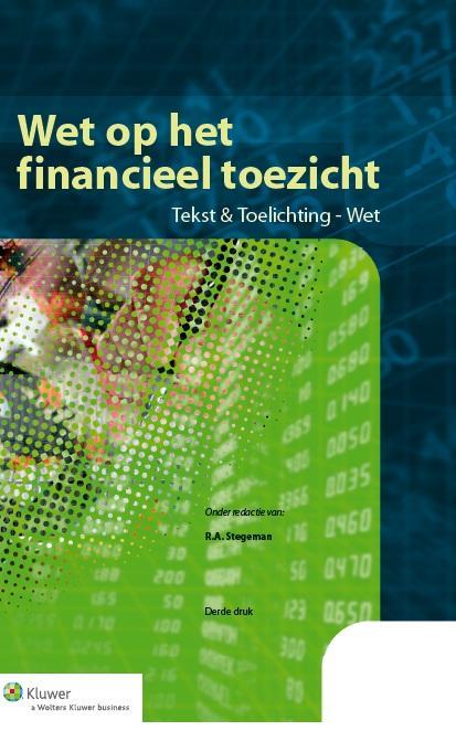 Cover Wet op het financieel toezicht