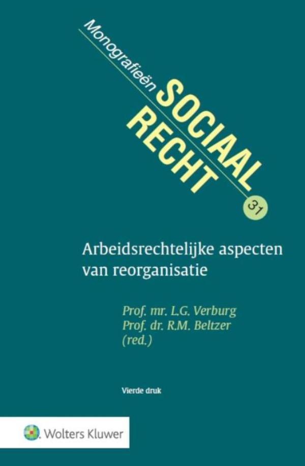 Cover Arbeidsrechtelijke aspecten van reorganisatie