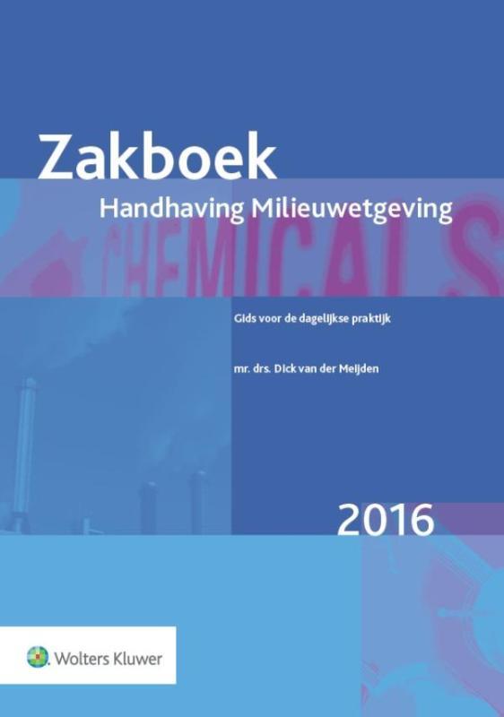 Cover Zakboek handhaving milieuwetgeving 2016