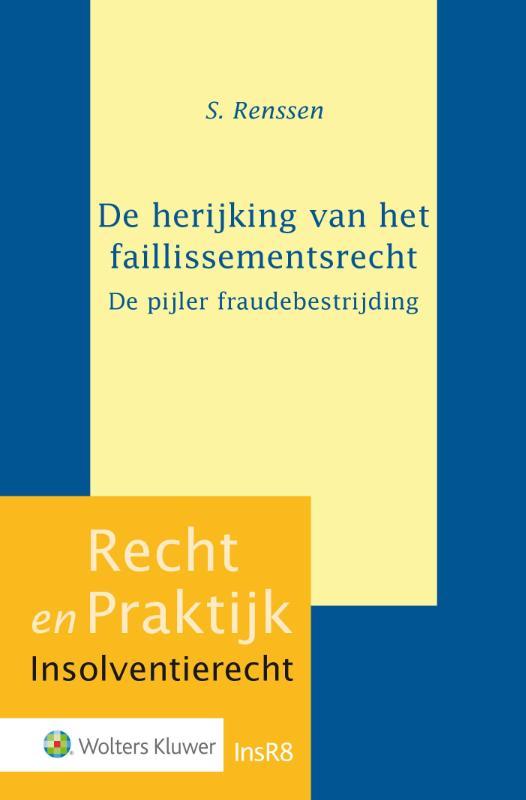Cover De herijking van het faillissementsrecht