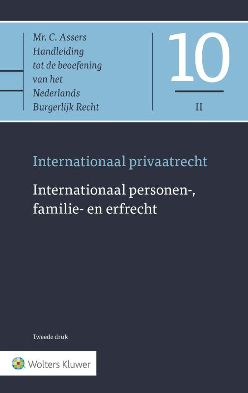 Cover Internationaal personen-, familie- en erfrecht