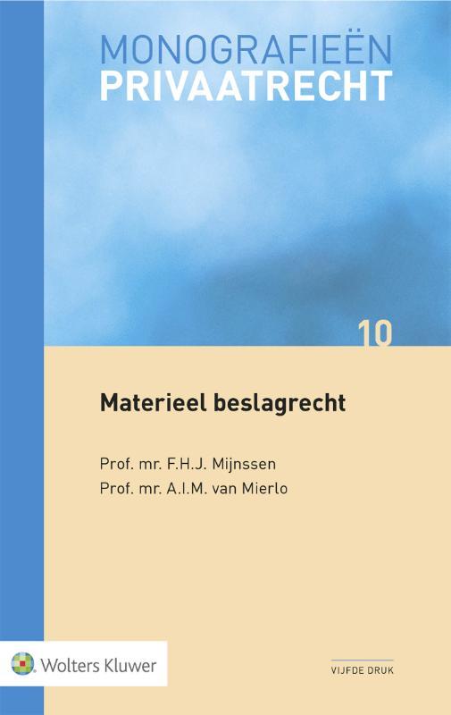 Cover Materieel beslagrecht